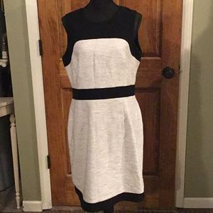 Banana Republic Black & White Dress